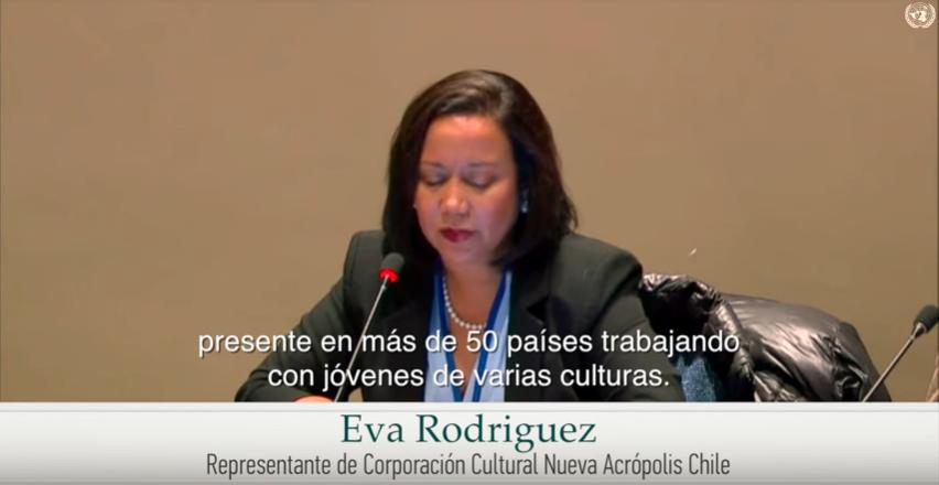 Vídeo de la participación de Nueva Acrópolis en la Comisión de Desarrollo Social de Naciones Unidas en Nueva York